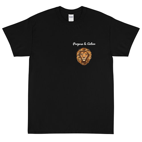 P&A Lion T-Shirt (Black)