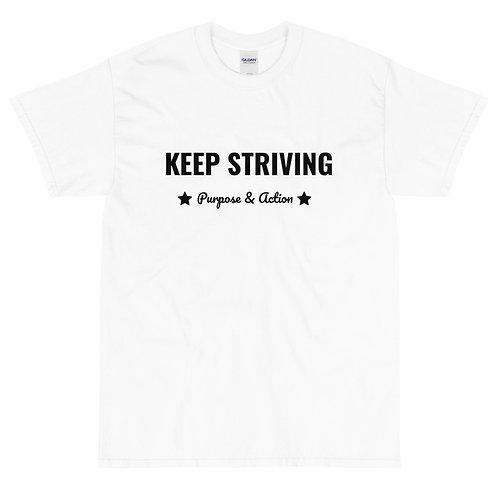 Keep Striving T-Shirt (White)