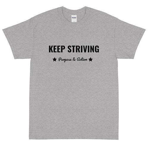 Keep Striving T-Shirt (Grey)