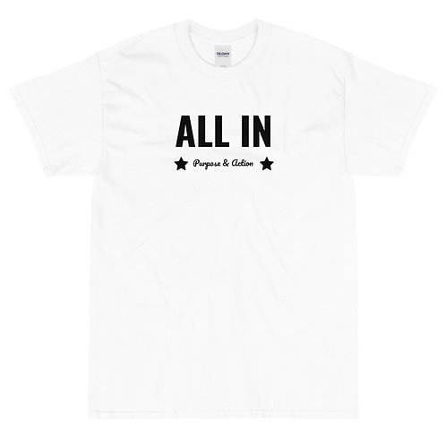 ALL IN T-Shirt (White)