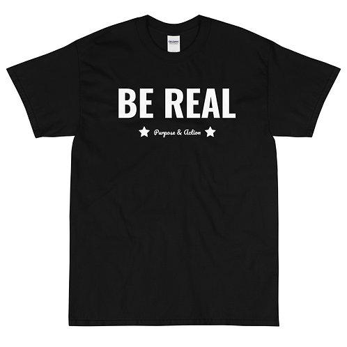 BE REAL T-Shirt (Black)