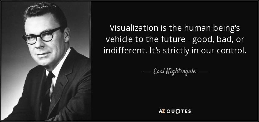 earl nightingale visualization