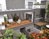 הדמיית דירת מיניפנטהאוז