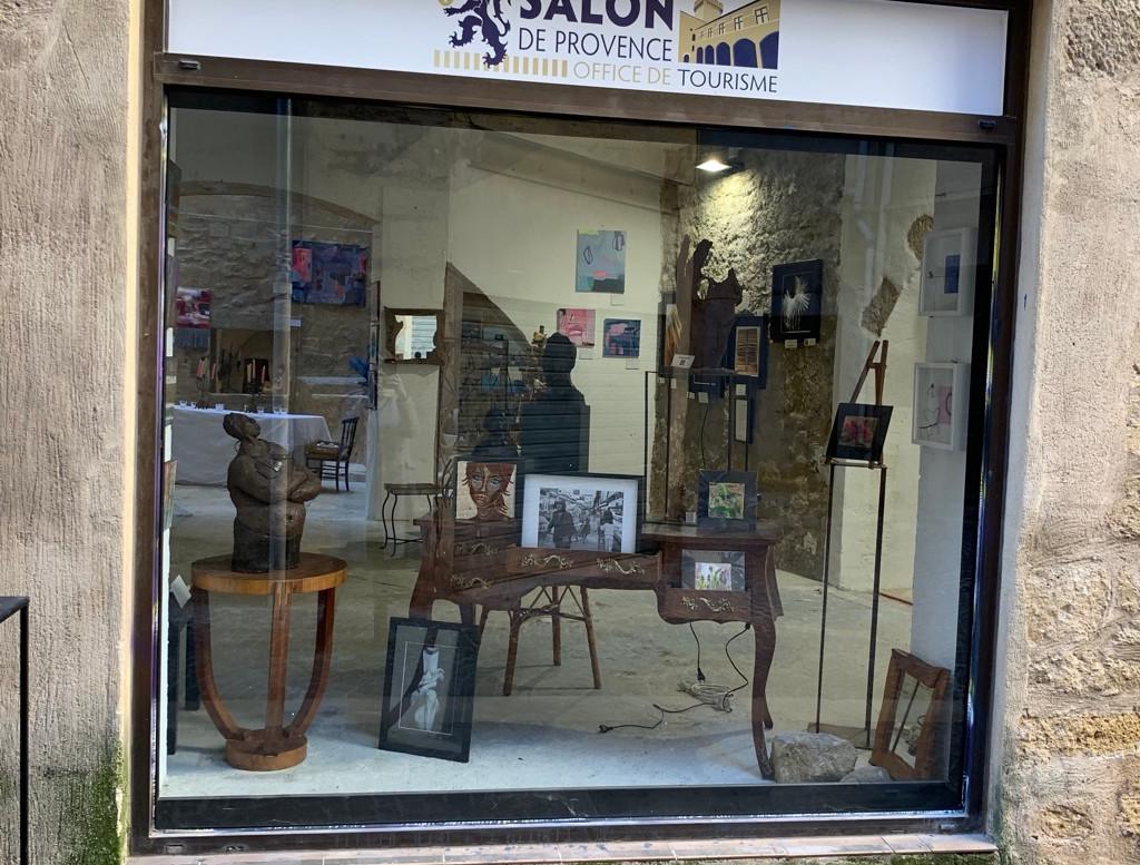 .Vitrine rue Bastonenq _ Noel 2020