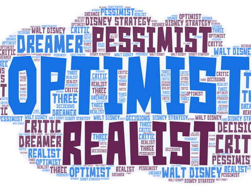 The Pessimist, The Realist & The Optimist... How you can be all 3