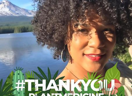 #ThankYouPlantMedicine on The Farrah Sharpe Podcast