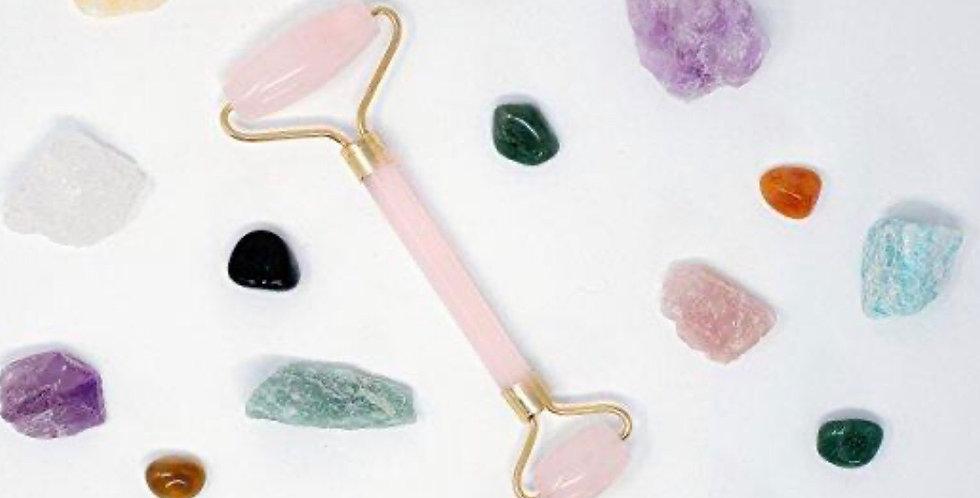 Rose Quartz Luxe Gemstone Facial Roller