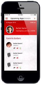 barber scheduling app