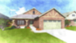 The Annie 1730 Traditional Custom Home