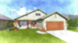 The Annie 1730 Craftsman Custom Home