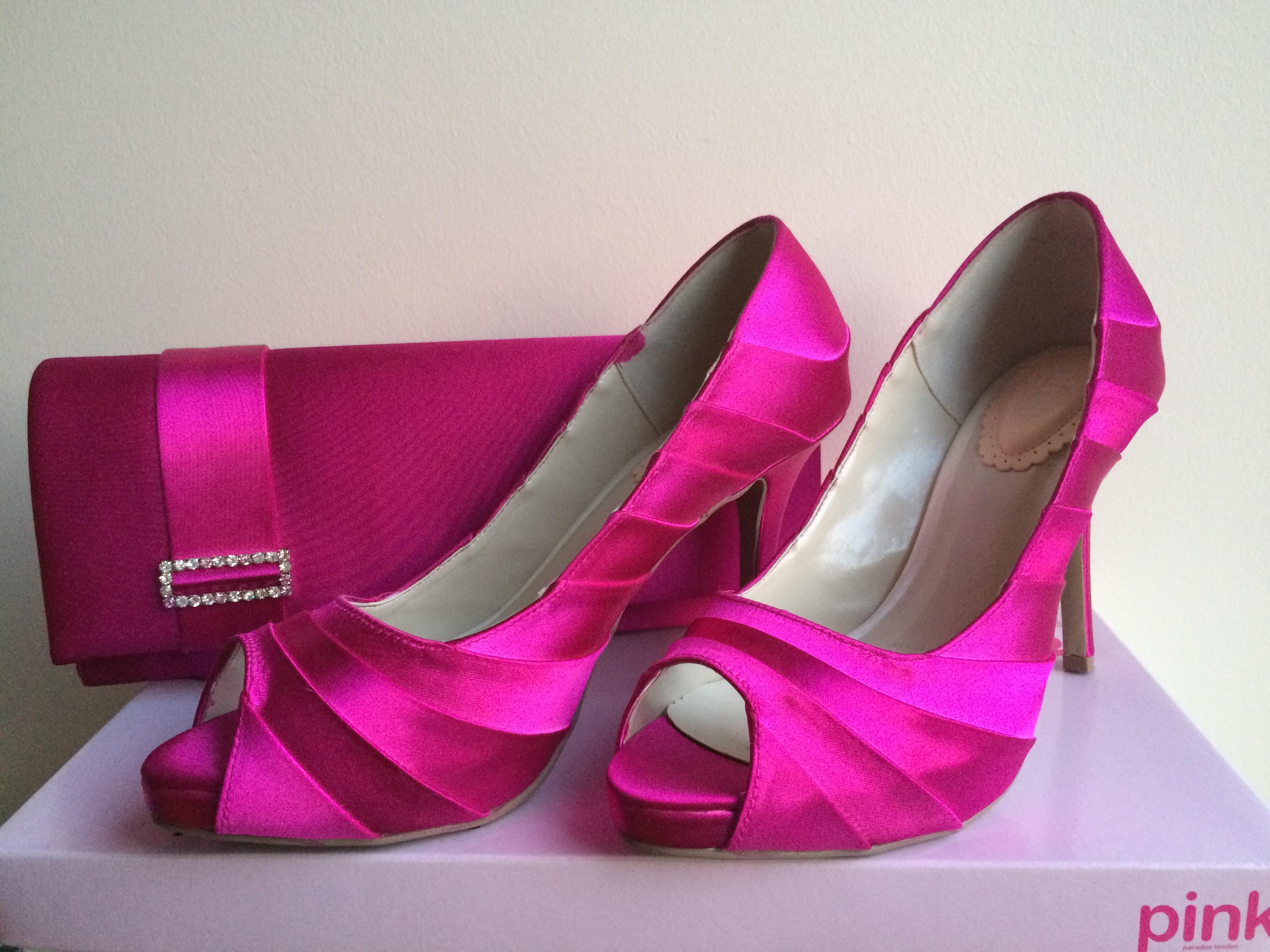 Pretty cipő és Sheer táska pink