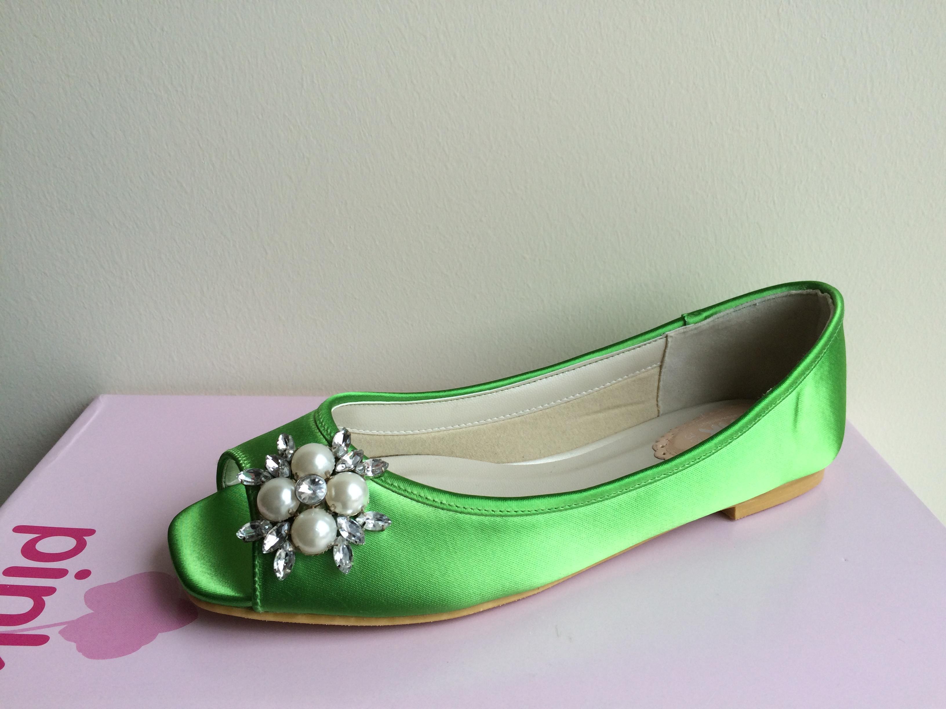 Flower zöld