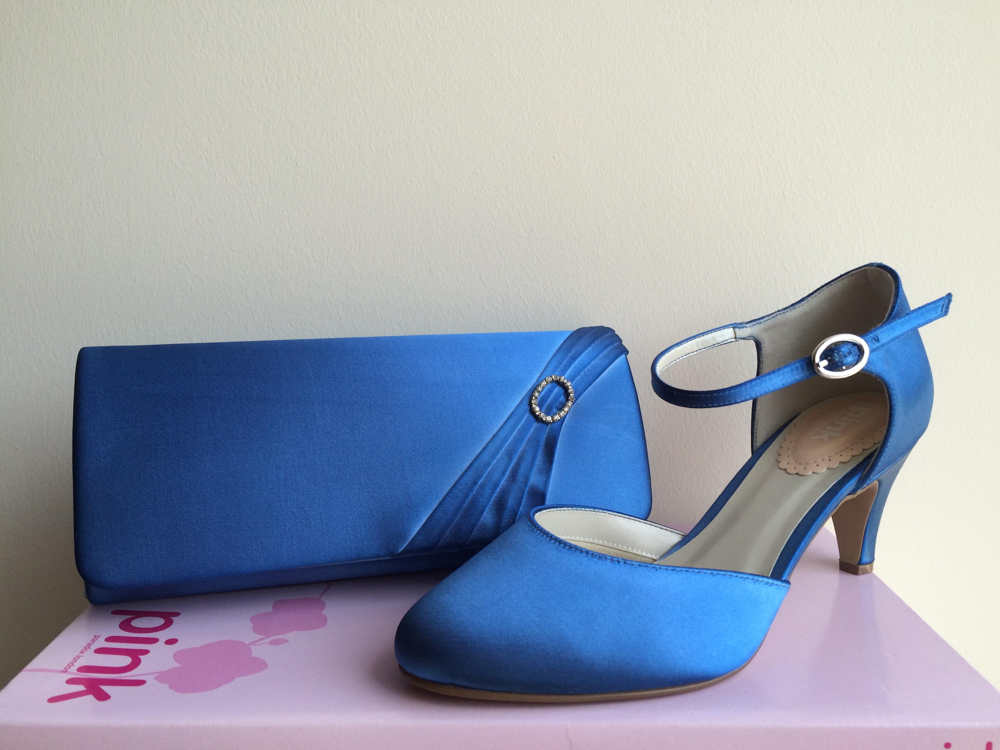 Freesia és Peony táska kék