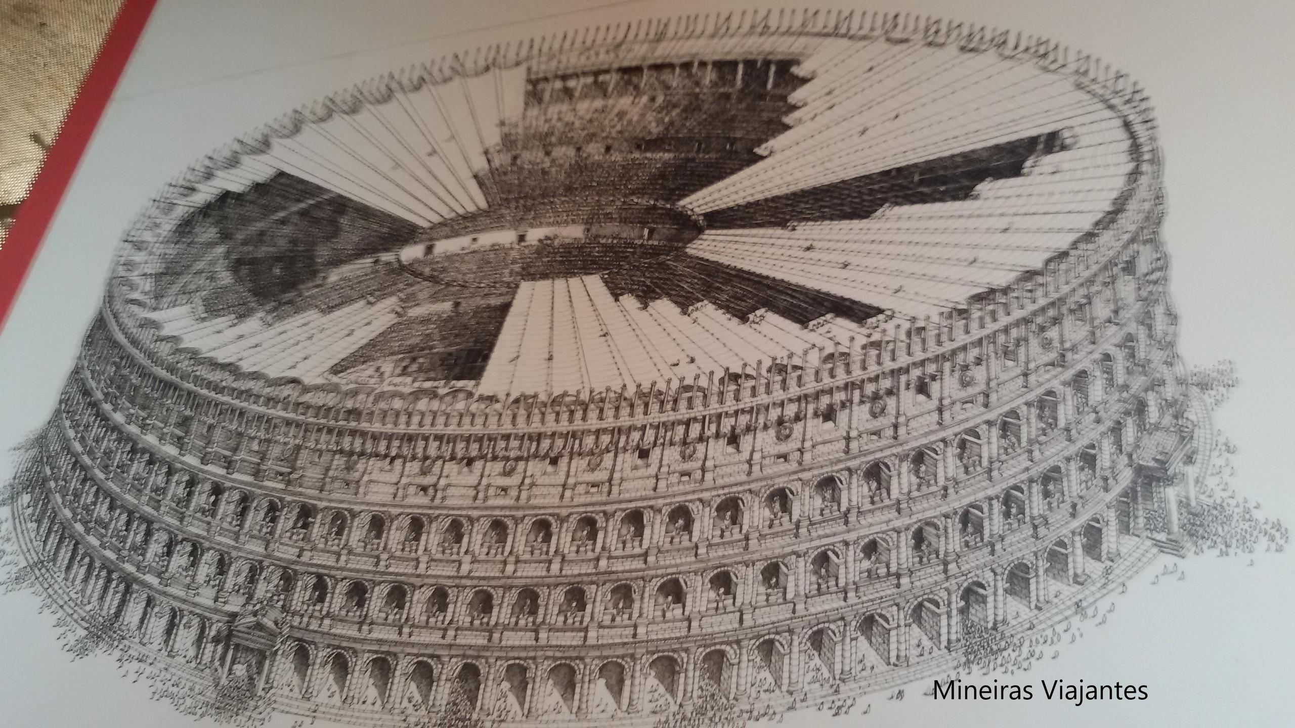 Ilustração do Coliseu
