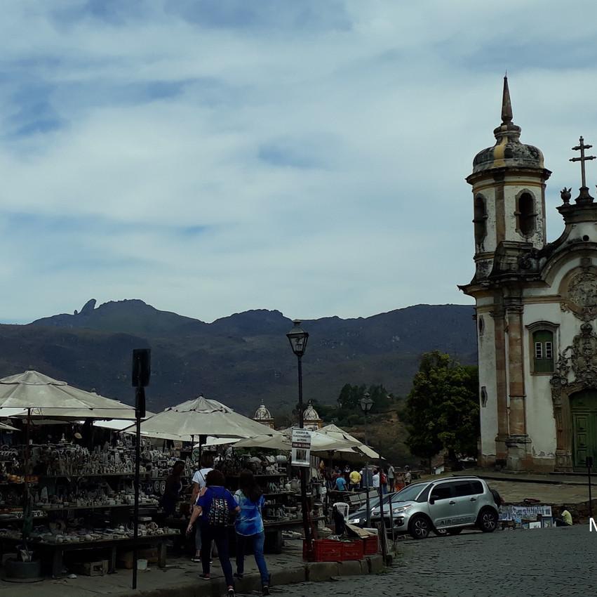 Feira de Pedra Sabão em Ouro Preto