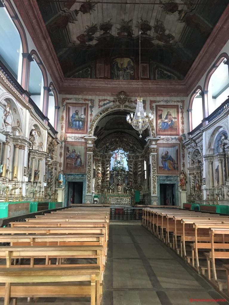 Igreja Matriz de Santa Luzia (Interior)