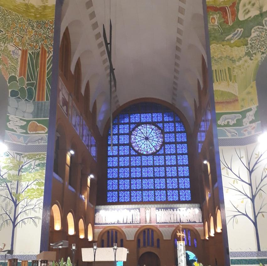 Interior da Basílica do Santuário