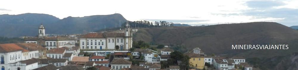 Vista de Ouro preto - Minas Gerais