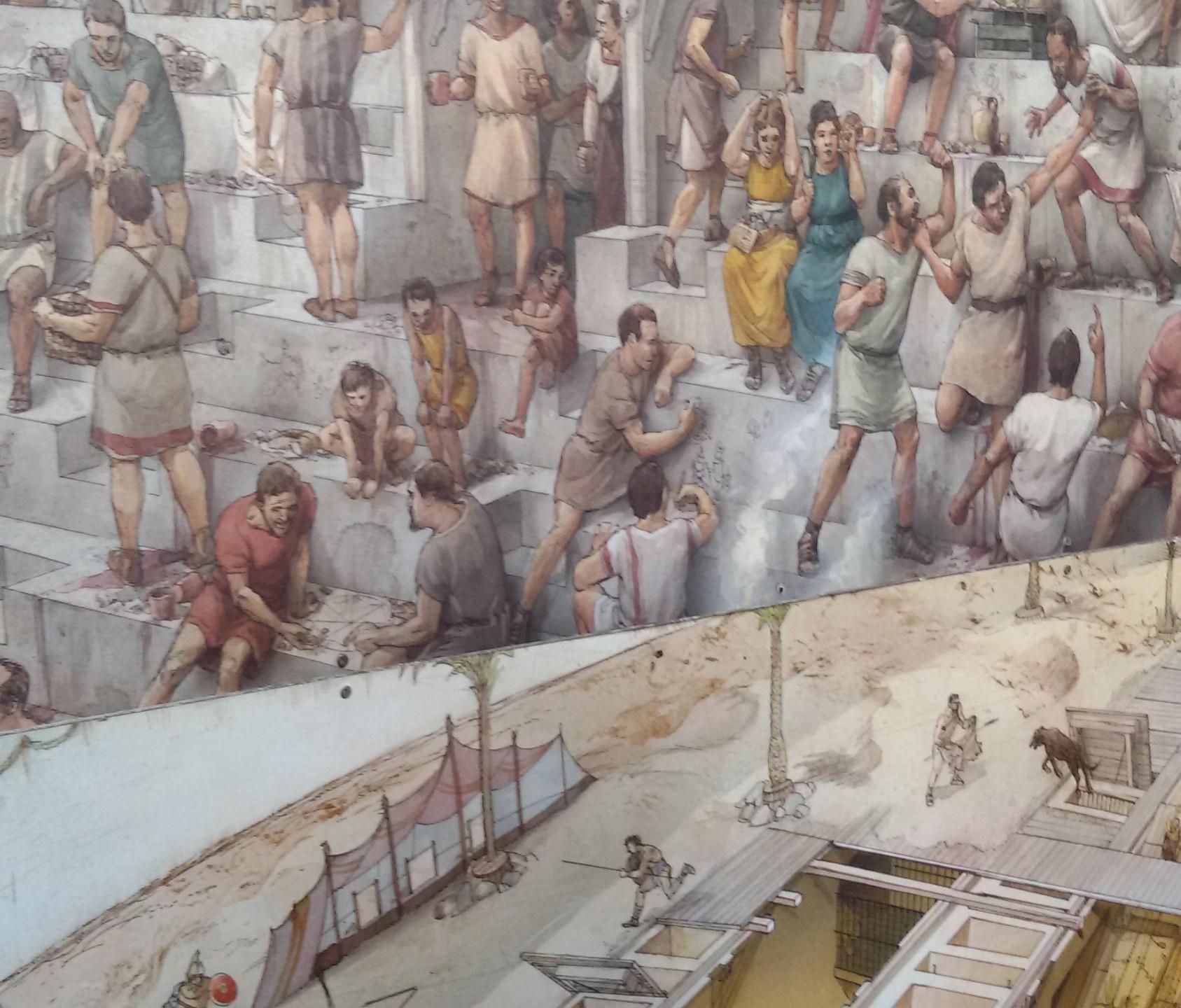 População no Coliseu