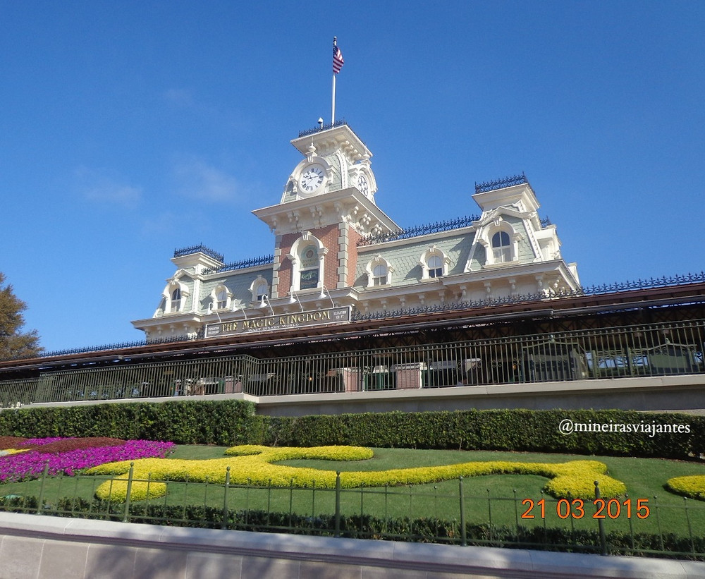 Entrada Magic Kingdom Disney
