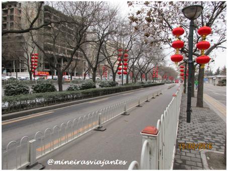 Primeiros contatos Xian, uma bela cidade da China