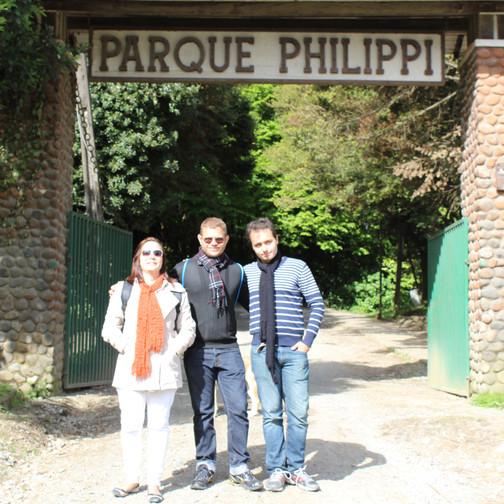 Entrada do Parque Philippi