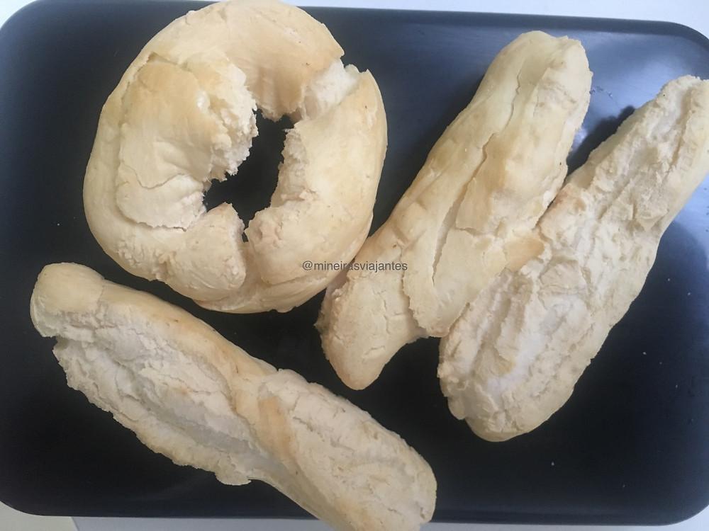 Biscoitos de polvilho frito na Airfryer