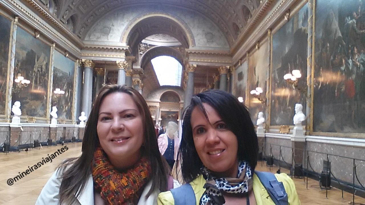 Galeria de arte em Versailles