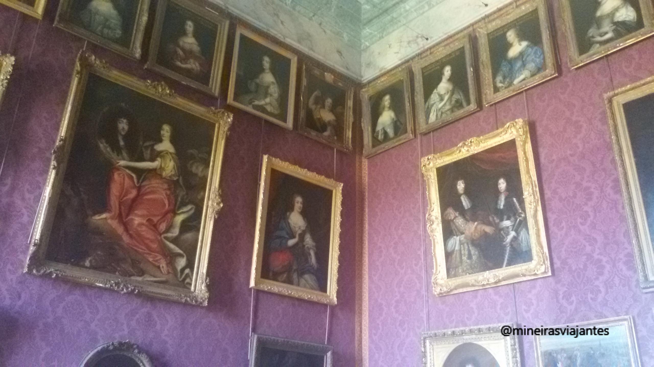 Quadros em Versailles