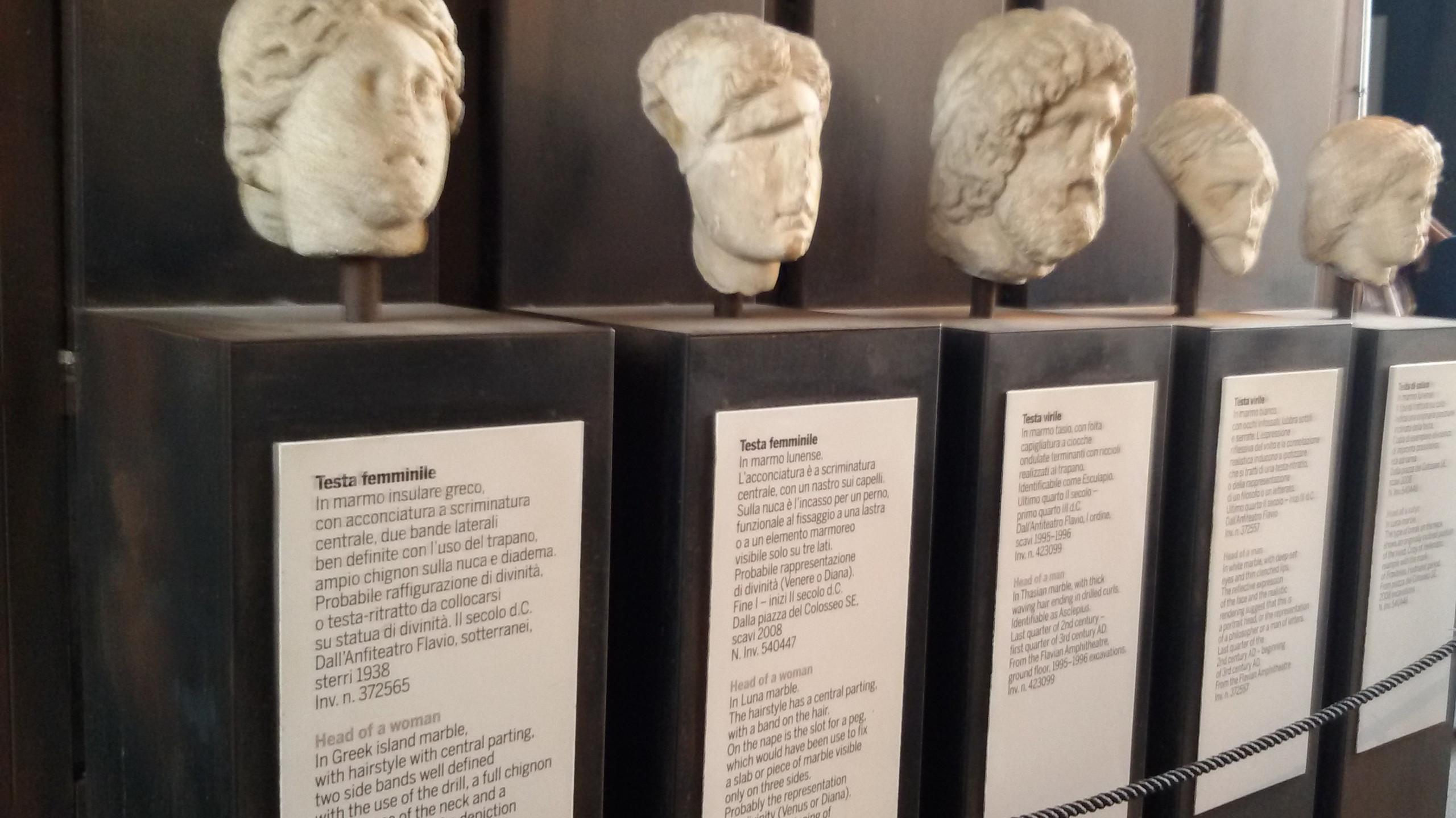 Bustos das pessoas - Coliseu