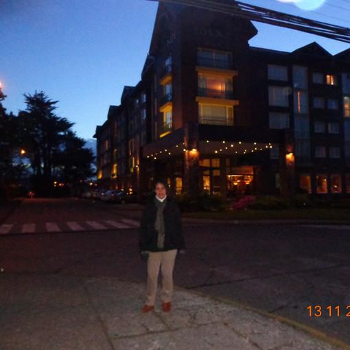 Frente do Hotel Solace