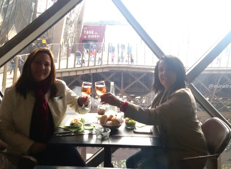 58 Tour Eiffel Restaurante em Paris