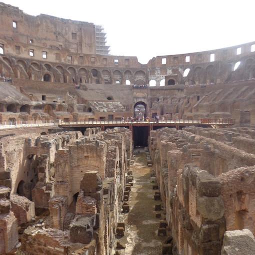 Galerias das lutas do Coliseu