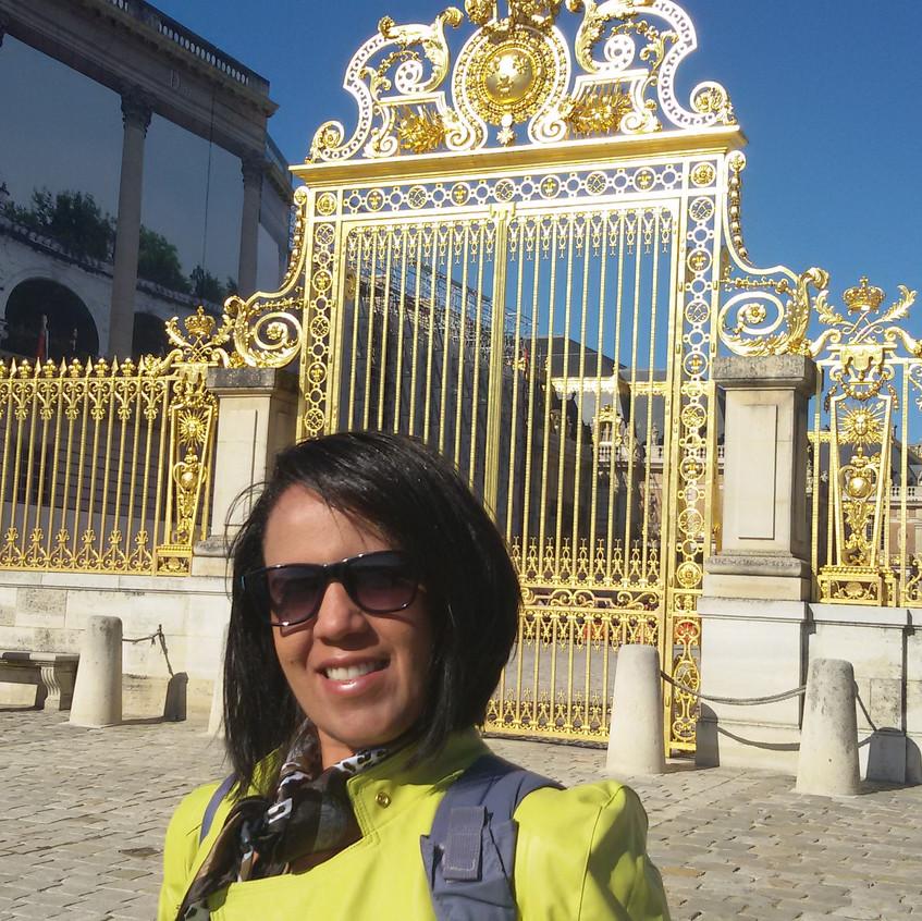 Portão magnífico de Versailles