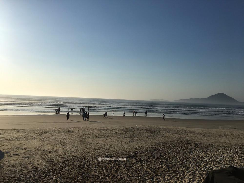 Amanhecer - Praia Grande