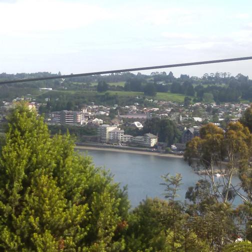 Vista do alto do parque