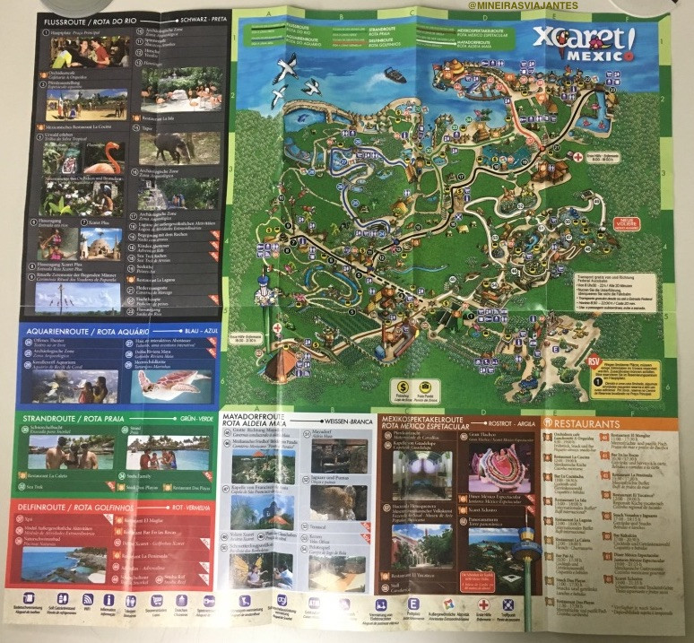 Mapa completo do xCaret