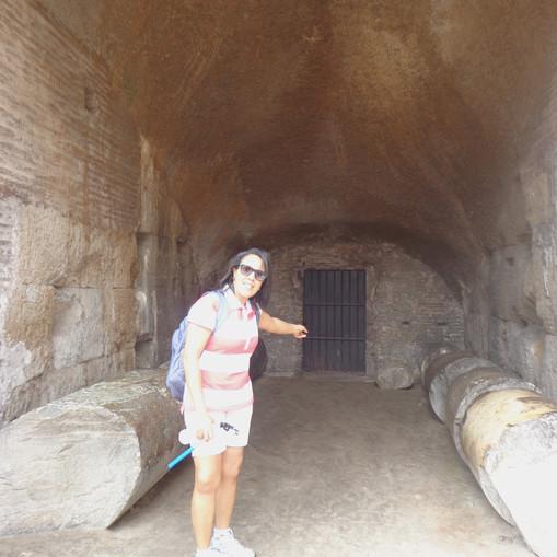 Jaula das feras do Coliseu