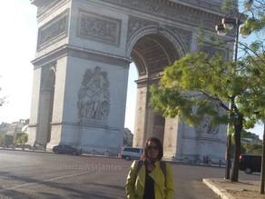 Arco do Triunfo: Turistando em Paris