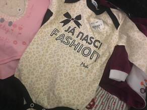 Compras em São Paulo - Enxoval de bebê
