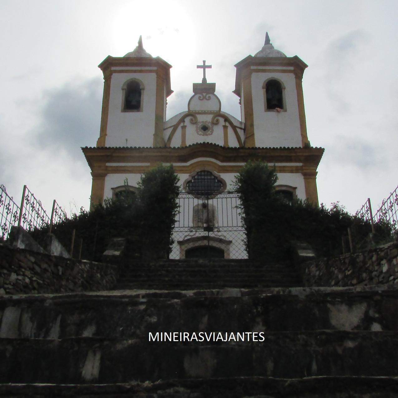 Igreja de Ouro Preto, Minas Gerais. Turismo histórico.