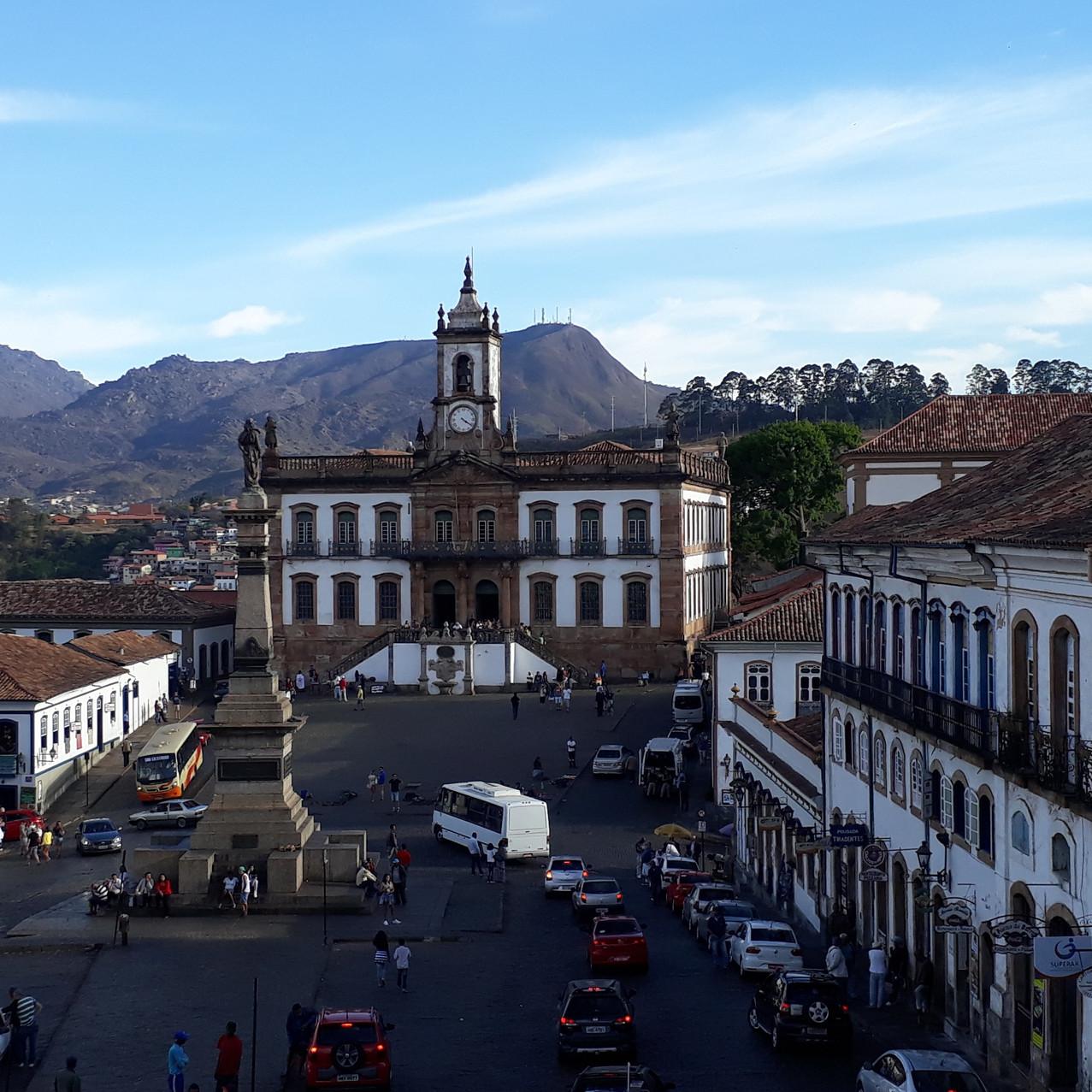 Praça Tiradentes: Museu em destaque