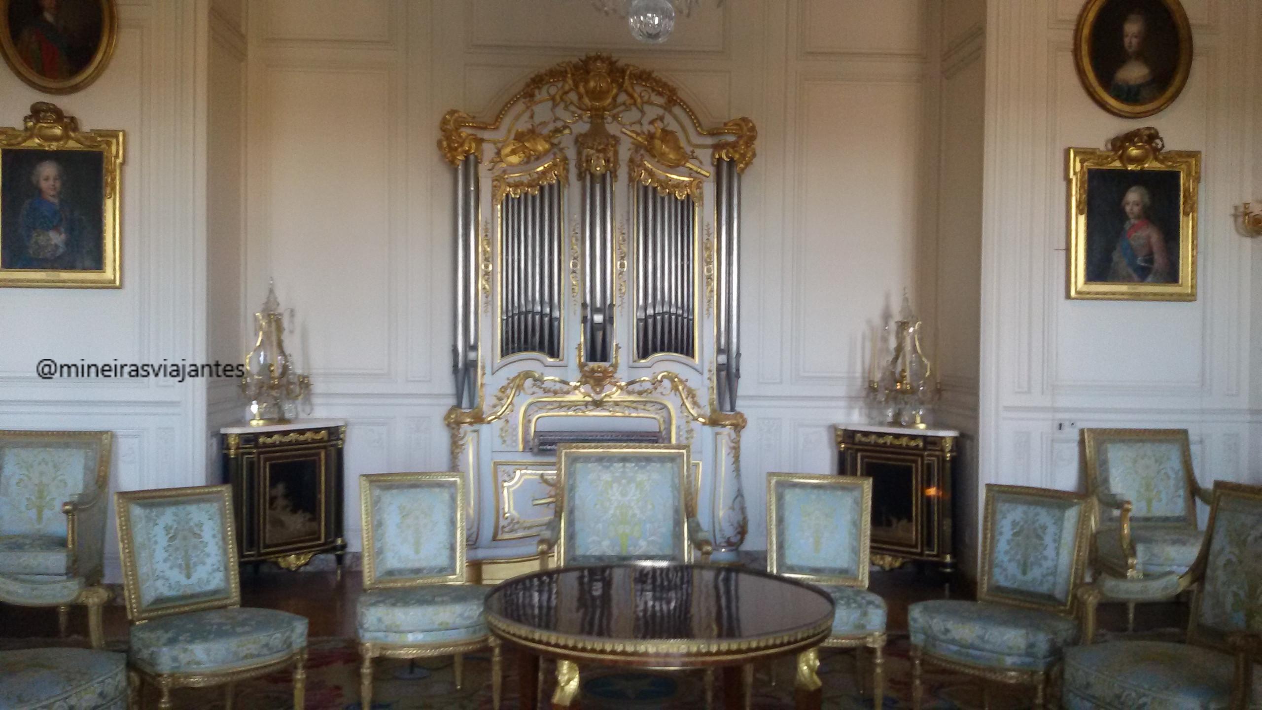 Interior do Castelo de Versailles