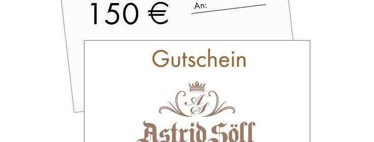 Gutschein 150 €