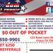 Frisco Hail Repair flyer graphic design