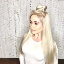 Clean blonde