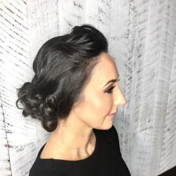 Awards night hair and makeup