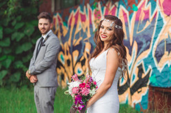 Bride & groom hair and makeup