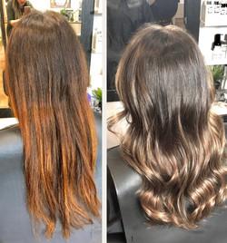 No more brassy hair