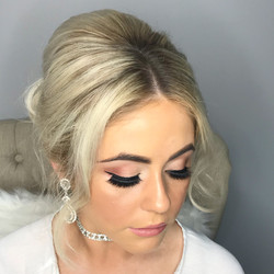 Formal hair and makeup